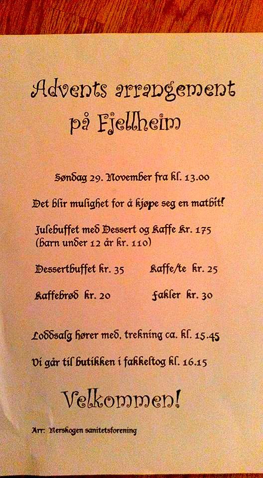 Advent Fjellheim 2015